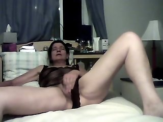 My lady friend masturbating