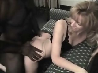 Petite blonde wife loves her..