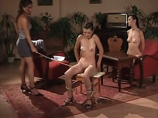 Kinky bitches enjoying BDSM..