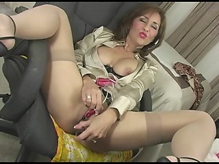 Satin Blouse MILF